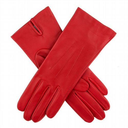 Dents - Women's Leather Gloves - Red